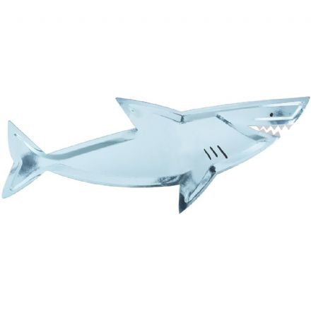 Under The Sea Party Shark Platter - pack of 4